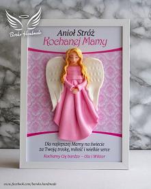 Anioł Stróż Mamy - ramka 21x30