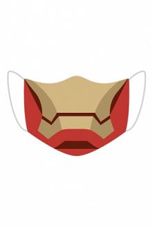 Maseczka na twarz Iron Man