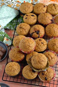 Muffinki marchewkowe z czek...