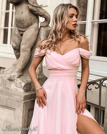 Zwiewna sukienka dla druhny...