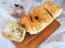 Odrywany chlebek czosnkowo ...