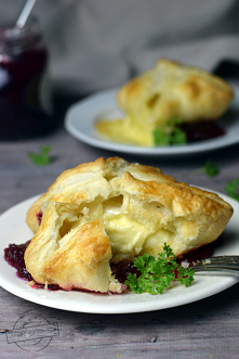 Camembert w cieście francuskim