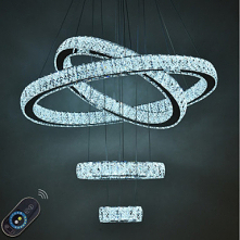 1-Light 80cm Crystal / Adju...