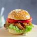 Kanapka a'la Zinger (burger z kurczakiem)