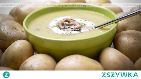 Krem z ziemniaków z koperkiem