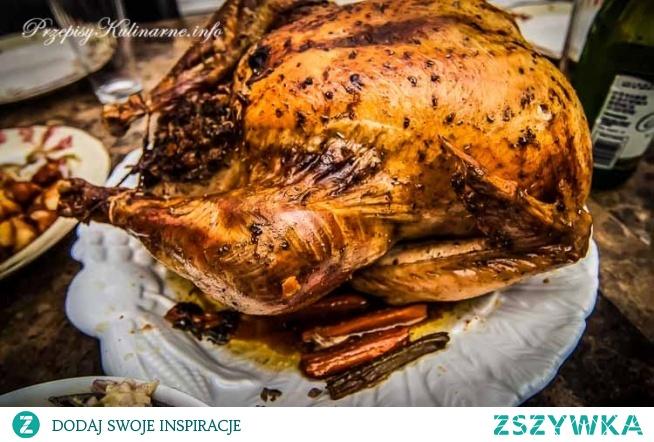 Mocno czosnkowy kurczak