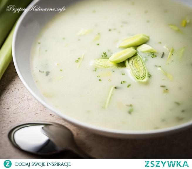 Zupa z porów Kacpra