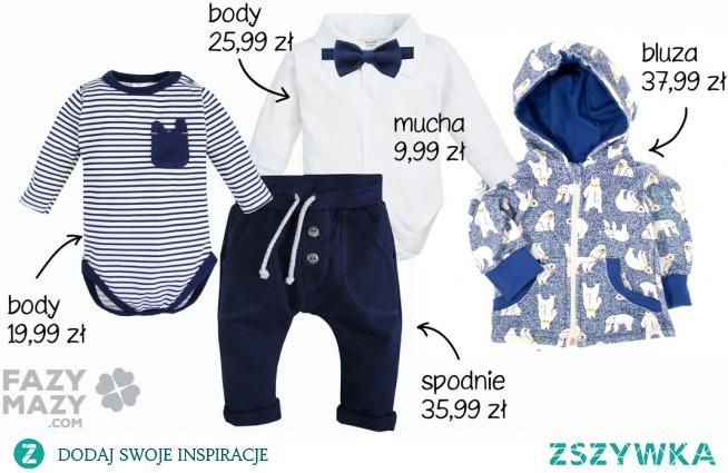 ubranka dla niemowlat