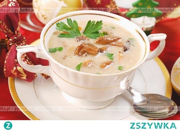 Zupa krem z kurakami