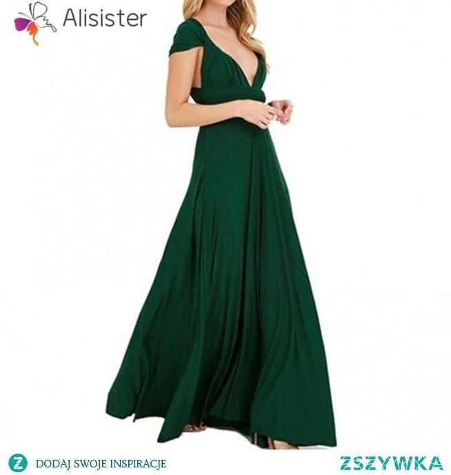 Piękna sukienka multiway