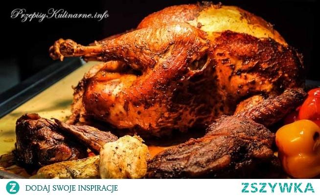 Pieczony kurczak Krzyśka