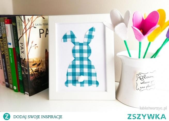 Tutorial ukazujący sposób wykonania ślicznego obrazka z motywem królka :)