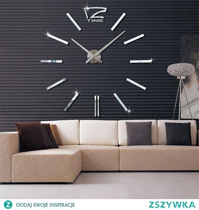 Duży dekoracyjny zegar ścienny ze sklepu 4FunDesign.com