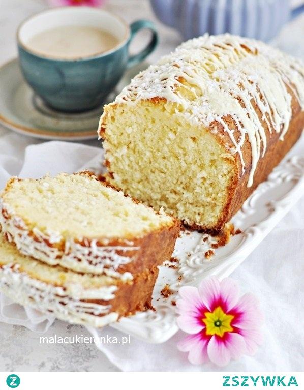 MEGA Proste Szybkie Ciasto Cytrynowe z Kokosem. Przepis po kliknięciu w zdjęcie.