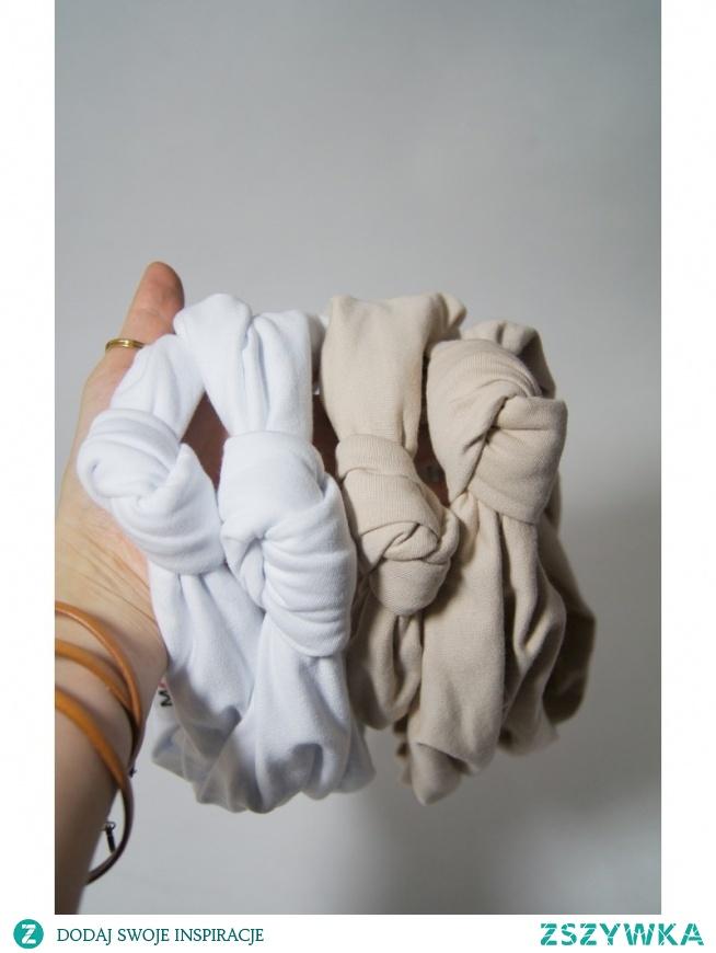 Polska marka odzieżowa - opaski bawełniane.