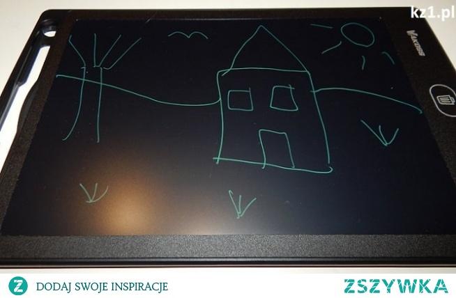 Recenzja tabletu graficznego dla dziecka do rysowania.