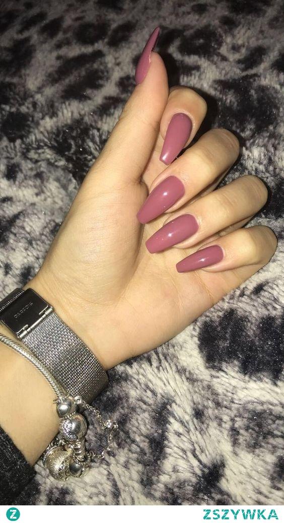 ongles bois de rose