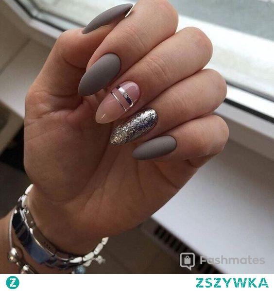 źródło inspiracji paznokcie hybrydowe matowe