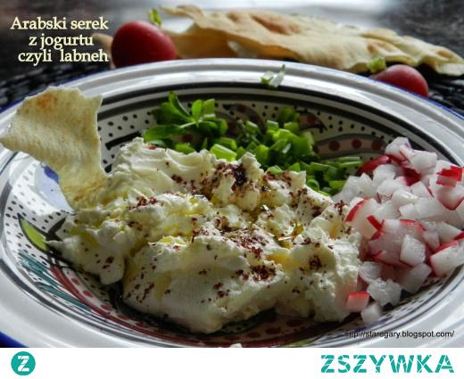 Arabski serek z jogurtu – labneh