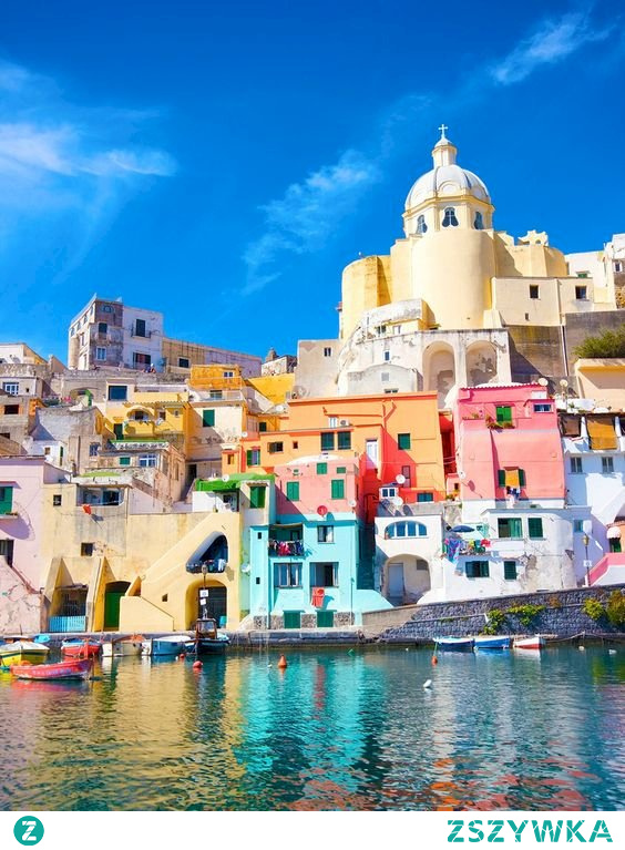 Puzzle >> Wyspa we Włoszech, Procida.
