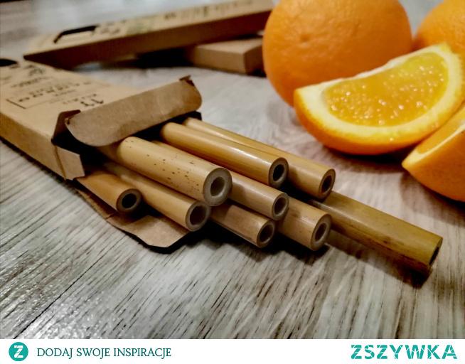 Słomki bambusowee ZERO WASTE  bambooage.pl