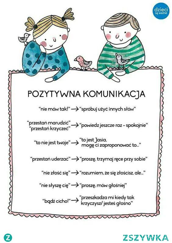 pozytywna komunikacja z dzieckiem