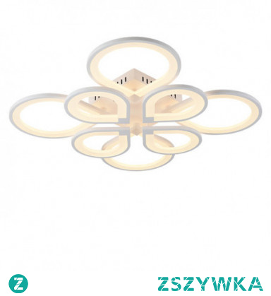 8-Light 8-Head Modern Style Simplicity Acrylic LED Ceiling Lamp Flush Mount Living Room Dining Room Light Fixture
