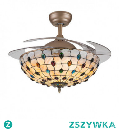 1-Light 107cm Mini Style Ceiling Fan Metal Shell Novelty Painted Finishes Nature Inspired / Traditional / Classic 110-120V / 220-240V / VDE