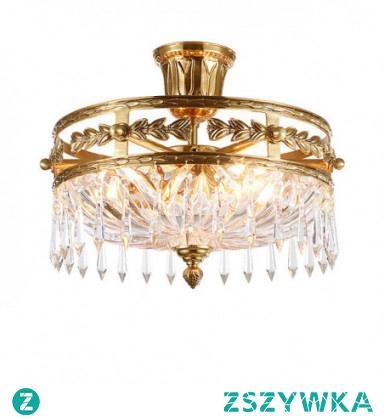 4-Light 41cm Flush Mount Lights Copper Circle / Mini Brass Traditional / Classic / Country 110-120V / 220-240V / E12 / E14