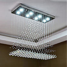 8 Light Chandelier Downligh...