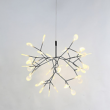 Sputnik Chandelier Ambient Light Painted Finishes Metal Warm White LED Light ...