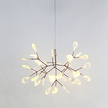 Sputnik Chandelier Ambient Light Painted Finishes Metal LED Warm White