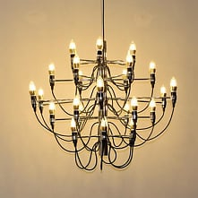 Candle-style Chandelier Ambient Light Electroplated Metal Creative New Design...