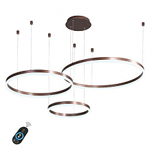LED 60W Circle Chandelier/ LED Modern Pendant Lights For Living Room Coffee B...
