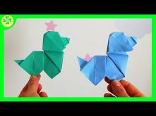 Jak zrobić Psa Origami | DI...