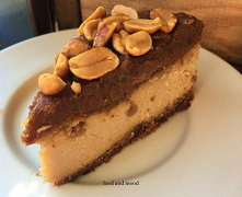 Wegańskie ciasto typu Snickers