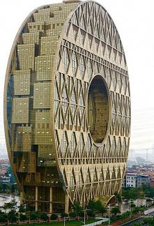 Wieżowiec w Kantonie w Chin...