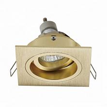 Spot Zuma Line CHUCK DL SQUARE 92703-GD. Lampa wpuszczana nowoczesna z geometrycznym kształtem kwadratu. CHUCK DL SQUARE posiada pojedyncze źródło światła i przystosowane jest d...