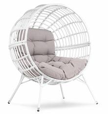Designerski fotel do ogrodu. Duży i niepowtarzalny. Sprawdź go w hop-sport pl