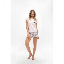 Piżama z bawełny Monika pol...