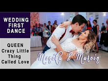 Wedding First Dance - Swing Dance to Crazy Little Thing Called Love Monika &a...