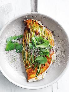 puszysty omlet z ricottą i ...