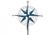 Wiatrak w kształcie kompasu. Szczegóły na stronie sklpu. Zapraszam