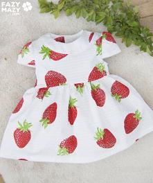 Sukienki niemowlęce na wios...