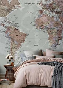 ☆map in bedroom☆