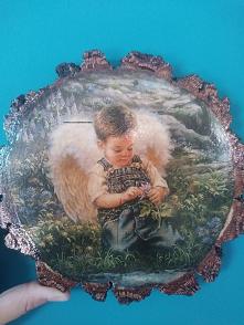 Obrazek Aniołek dla chłopca. Idealny prezent z okazji Chrztu czy Komunii