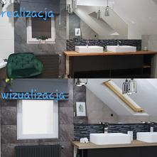 Projekt łazienki, a raczej ...