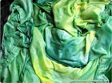 farbowanie ubrań diy