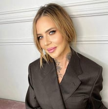 @maja_sablewska w makijażu ...