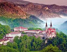 Covadonga, Hiszpania. Cudow...